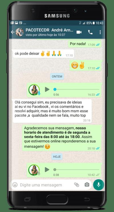 Depoimento André Arnaldo Rocha