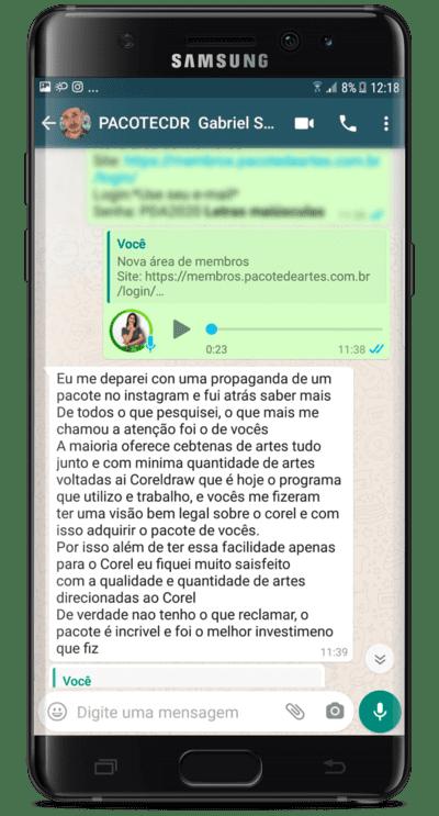 Depoimento Gabriel Santos