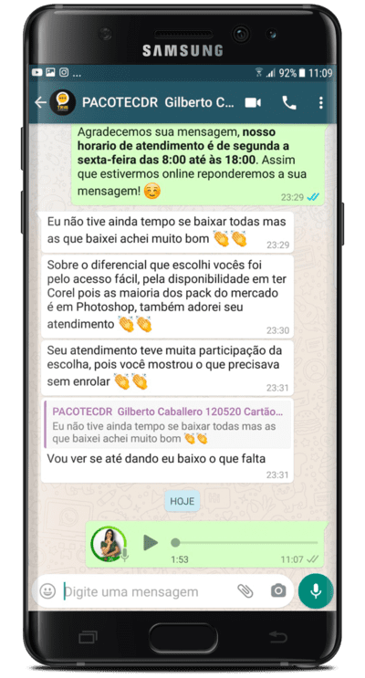 Depoimento Gilberto Caballero