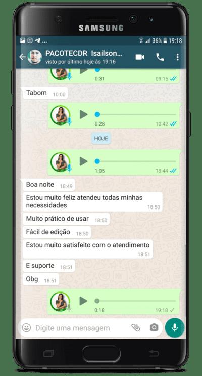 Depoimento Isailson Marques Silva