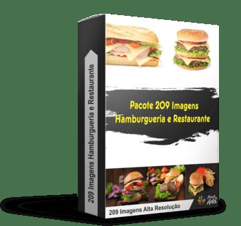 Pacote 209 Imagens Hamburgueria E Restaurante [BÔNUS]